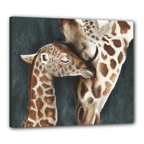 A Mother s Love Canvas 24  x 20  (Framed)