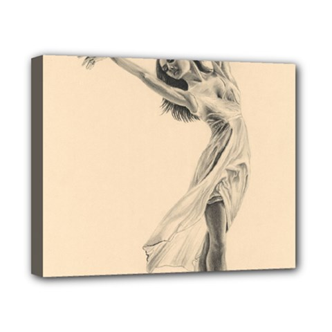 Graceful Dancer Canvas 10  x 8  (Framed)