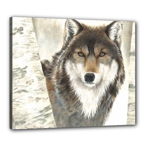 Hunter Canvas 24  X 20  (framed)