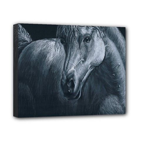Equine Grace  Canvas 10  X 8  (framed)