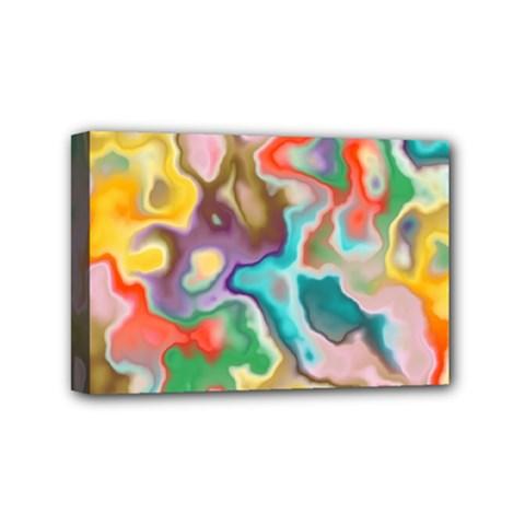 MARBLE Mini Canvas 6  x 4  (Framed)