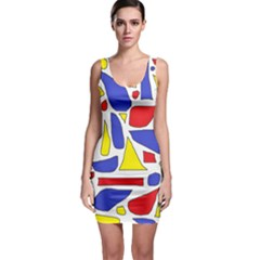 Silly Primaries Bodycon Dress