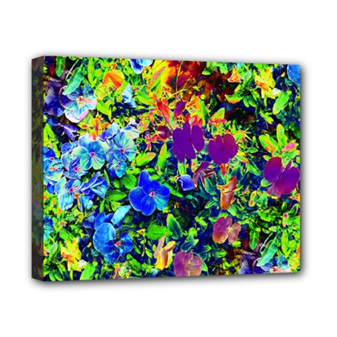 The Neon Garden Canvas 10  x 8  (Framed)