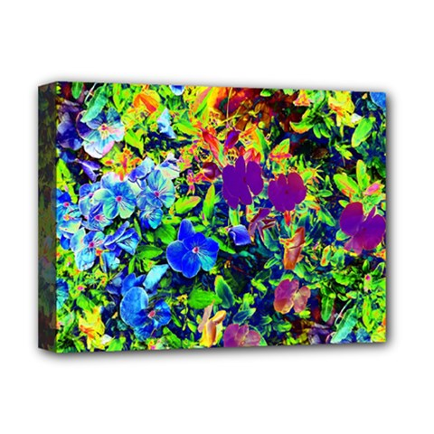 The Neon Garden Deluxe Canvas 16  X 12  (framed)
