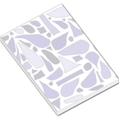 Silly Purples Large Memo Pad