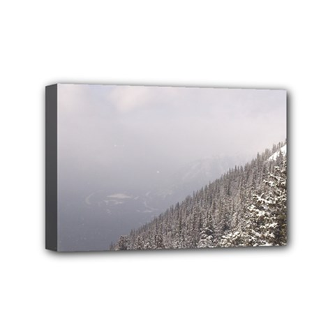 Banff Mini Canvas 6  x 4  (Framed)