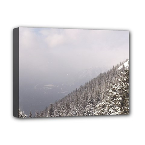 Banff Deluxe Canvas 16  x 12  (Framed)
