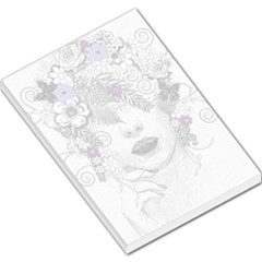 Flower Child Of Hope Large Memo Pad