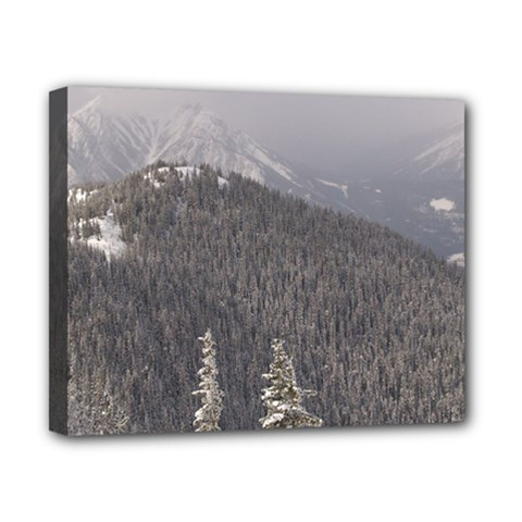 Mountains Canvas 10  X 8  (framed)