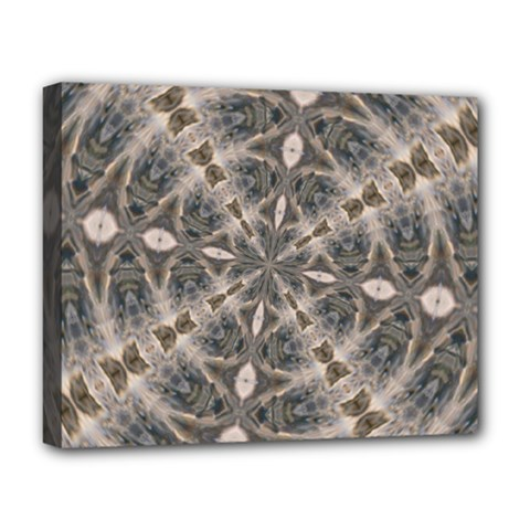 Flowing Waters Kaleidoscope Deluxe Canvas 20  X 16  (framed)