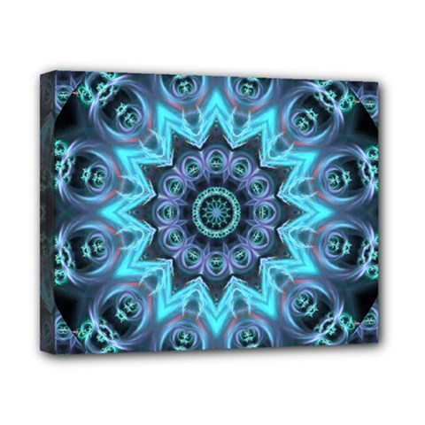 Star Connection, Abstract Cosmic Constellation Canvas 10  X 8  (framed)