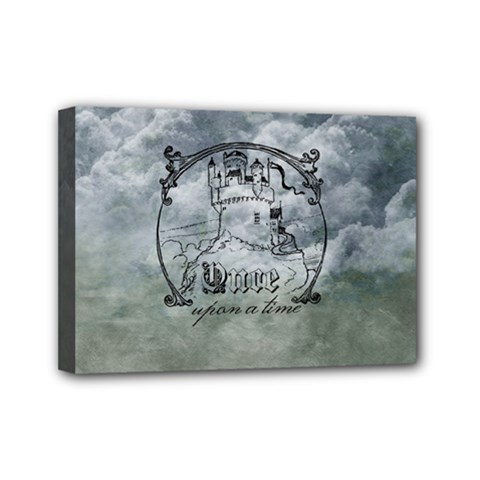 Once Upon A Time Mini Canvas 7  x 5  (Framed)