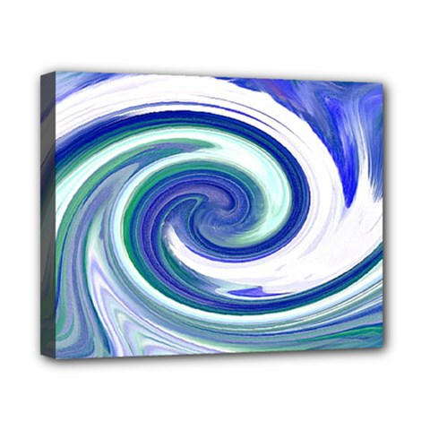 Abstract Waves Canvas 10  x 8  (Framed)
