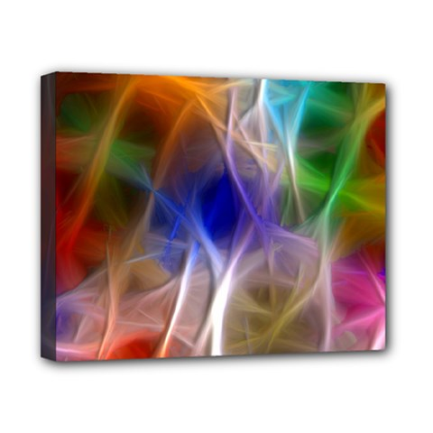 Fractal Fantasy Canvas 10  x 8  (Framed)