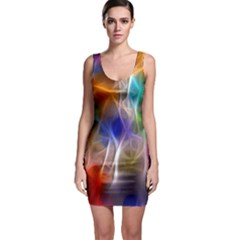 Neon Nerves Bodycon Dress