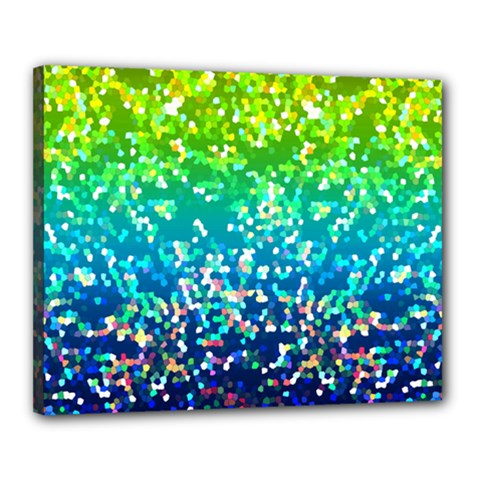 Glitter 4 Canvas 20  X 16  (framed)