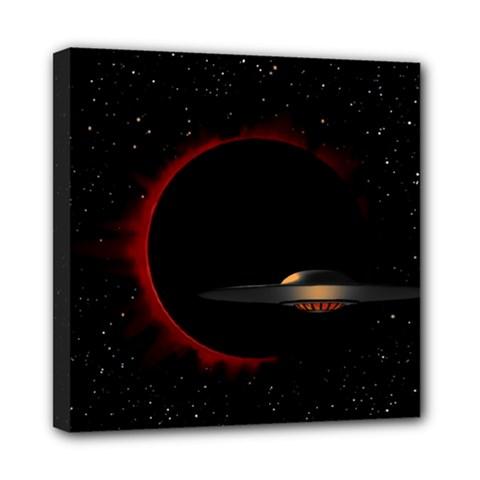 Altair IV Mini Canvas 8  x 8  (Framed)