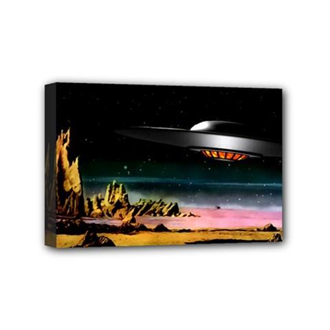 Altair IV Mini Canvas 6  x 4  (Framed)