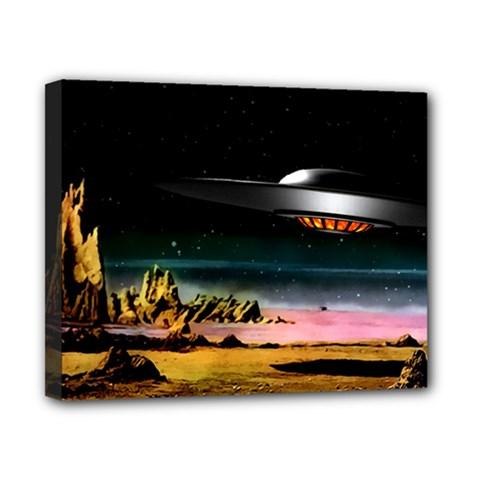 Altair Iv Canvas 10  X 8  (framed)