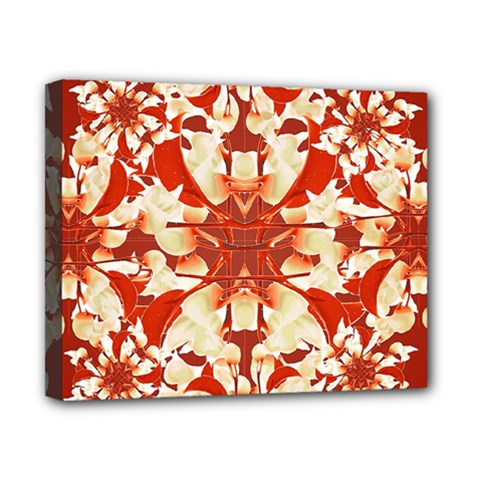 Digital Decorative Ornament Artwork Canvas 10  X 8  (framed)