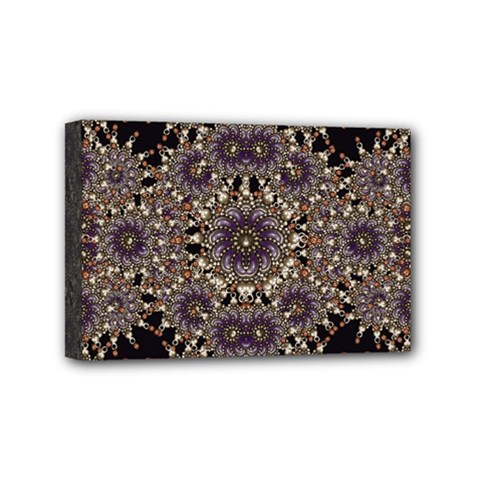 Luxury Ornament Refined Artwork Mini Canvas 6  x 4  (Framed)