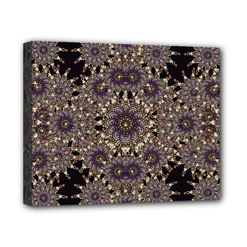 Luxury Ornament Refined Artwork Canvas 10  x 8  (Framed)
