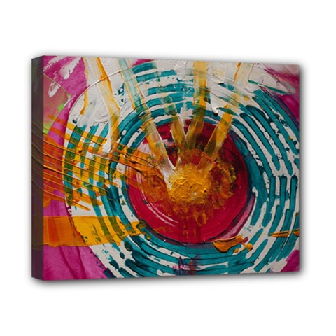 Art Therapy Canvas 10  x 8  (Framed)