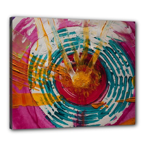 Art Therapy Canvas 24  x 20  (Framed)