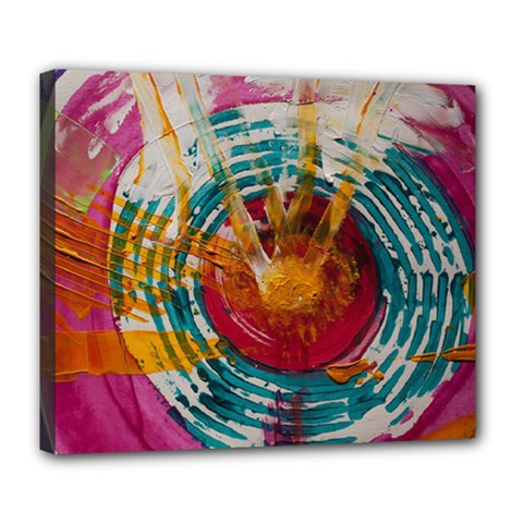 Art Therapy Deluxe Canvas 24  X 20  (framed)