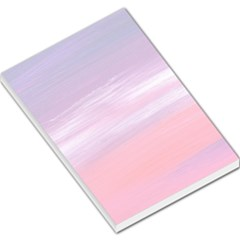 Abstract in Pink & Purple Large Memo Pad