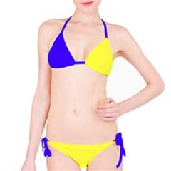 Flag Spells Sweden Bikini