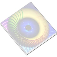 Eerie Psychedelic Eye Small Memo Pad