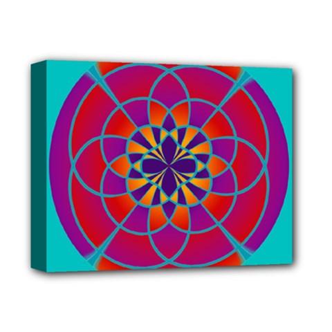 Mandala Deluxe Canvas 14  x 11  (Framed)