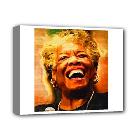 Angelou Deluxe Canvas 14  X 11  (framed)