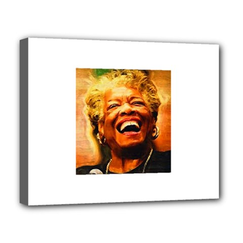 Angelou Deluxe Canvas 20  x 16  (Framed)