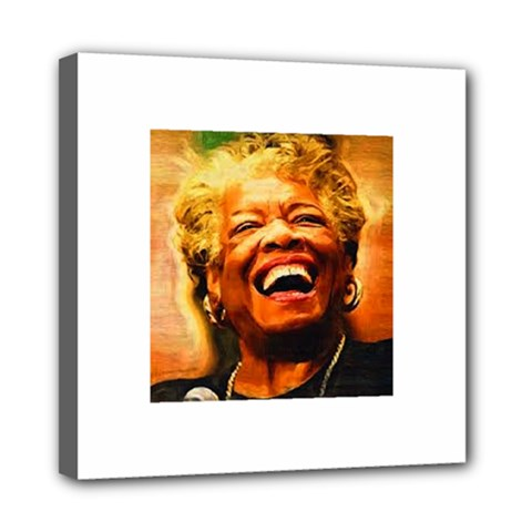 Angelou Mini Canvas 8  x 8  (Framed)