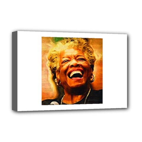 Angelou Deluxe Canvas 18  x 12  (Framed)