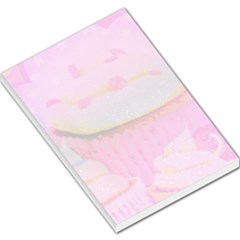 Cupcakes Covered in Sparkly Sugar Large Memo Pad