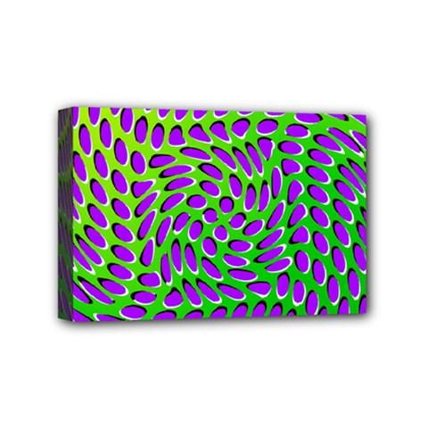 Illusion Delusion Mini Canvas 6  x 4  (Framed)