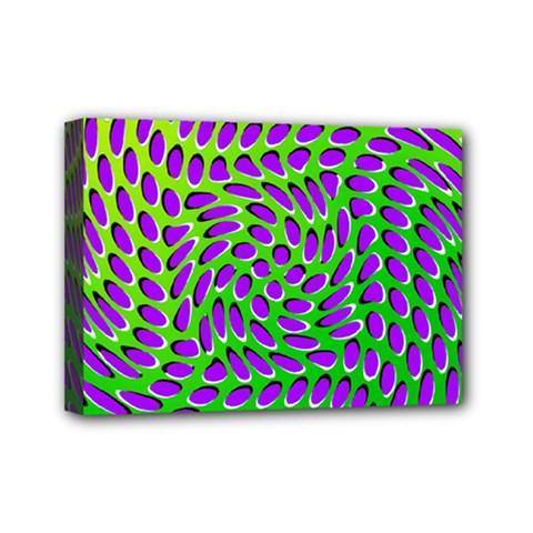 Illusion Delusion Mini Canvas 7  X 5  (framed)