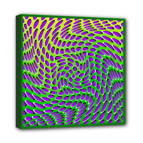Illusion Delusion Mini Canvas 8  x 8  (Framed)