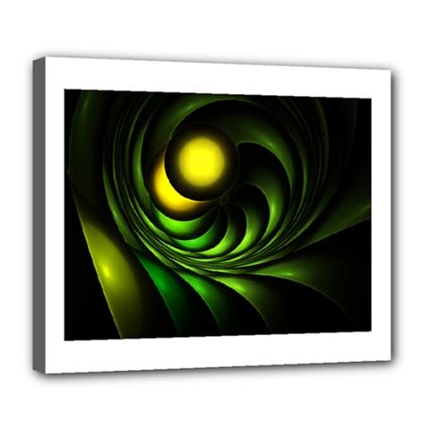 Artichoke Deluxe Canvas 24  x 20  (Framed)