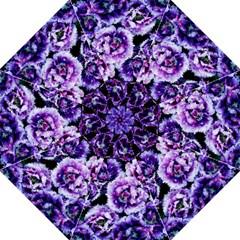Purple Wildflowers of Hope Golf Umbrella