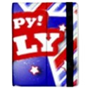 4th of July Celebration Design Apple iPad 2 Flip Case View2