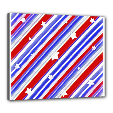 American Motif Canvas 24  x 20  (Framed)