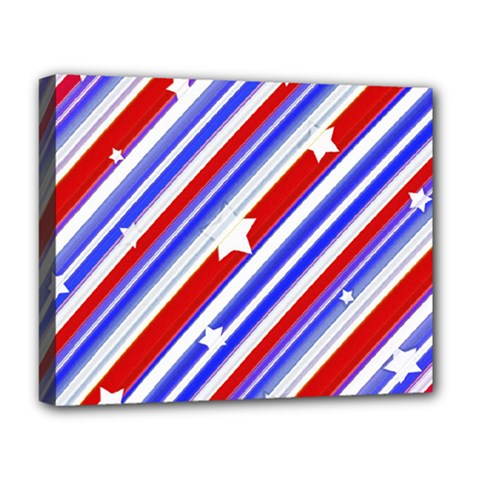 American Motif Deluxe Canvas 20  x 16  (Framed)
