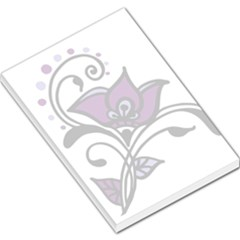 Awareness Flower Large Memo Pad