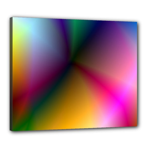 Prism Rainbow Canvas 24  x 20  (Framed)