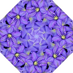 Purple Wildflowers For Fms Folding Umbrella
