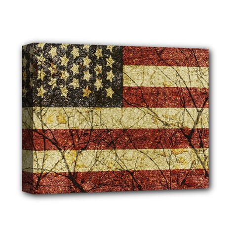 Vinatge American Roots Deluxe Canvas 14  x 11  (Framed)